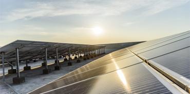 Rooftop solar power plant in Uttar Pradesh